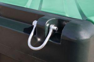 4 Verzurrösen  / Metall Schäkel für TruckMaster 200 (alte Ausführung), Kingspan TruckMaster 430 und TruckMaster 900 001