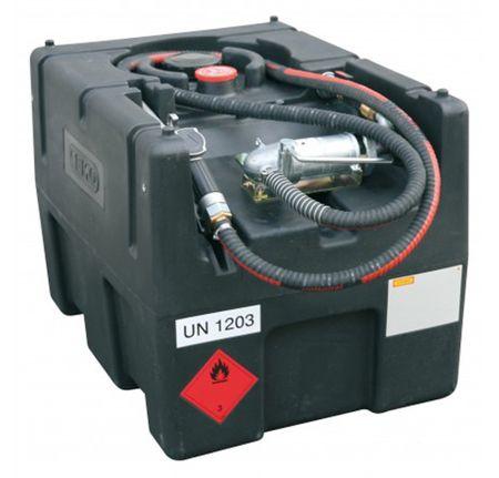Cemo mobile Benzintankstelle, Benzintank KS-Mobil-Easy 190 Liter Zulässig für den Transport zum unmittelbaren Verbrauch, inkl. Handpumpe, Schlauchset und manueller Zapfpistole