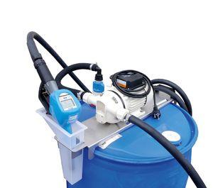 Piusi AdBlue® Fasspumpenset SUZZARA Blue Drum-SB-Z: 230V Membranpumpe, Konsole, automatische Zapfpistole mit integriertem Zählwerk, Saugschlauch mit SEC Kupplung, 6m Befüllschlauch 001
