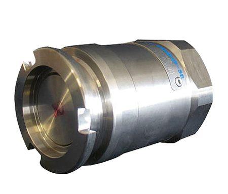 """ELAFLEX ManTek Trockenkupplung (Vaterteil) Selbstschließende Armatur für flüssige Medien, kuppelbar bis 7 bar Leitungsdruck, mit 2""""Rohr- Innengewinde, mit Viton O-Ring"""