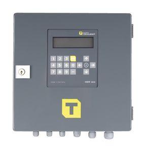 Tankautomat HDA-eco im Set mit einem Zapfpunkt für 2000 Fahrer und Fahrzeuge, mit alphanum.Tastatur, Display, Transponderleser und USB-Anschluss, inkl. Messkammer bis max. 100 l/min für Diesel mit Impulsausgang 001
