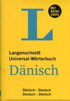 Dänisch-Deutsch Universalwörterbuch # Langenscheidt