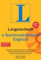 Englisch e-Taschenwörterbuch, CD / Langenscheidt