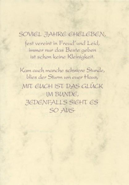 Silberhochzeit Grußkarte Urkunde 25 Zur Silberhochzeit Herzliche