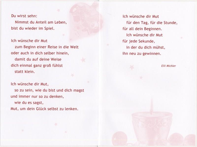 Weihnachtskarte gru karte frohe weihnachten elli michler 17x11 5 cm 505878 - Weihnachtskarte englisch ...