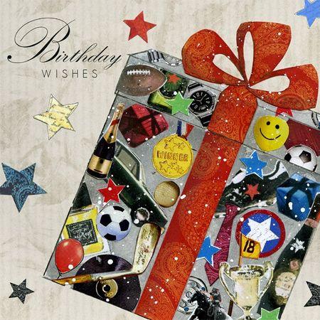 Swarovski Elements Geburtstag Grußkarte Handmade PopShot Birthday Wishes Geschenke 8x8cm