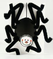 Pop Up Geburtstag ZZ Design Grußkarte PopShot schwarze Spaß Spinne 13x18cm