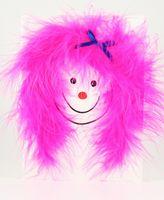 Pop Up Geburtstag ZZ Design Grußkarte PopShot Pink Hair Lady 13x18cm