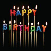 Geburtstag Humor Grußkarte Googlies PopShot Geburtstagkerzen 16x16cm