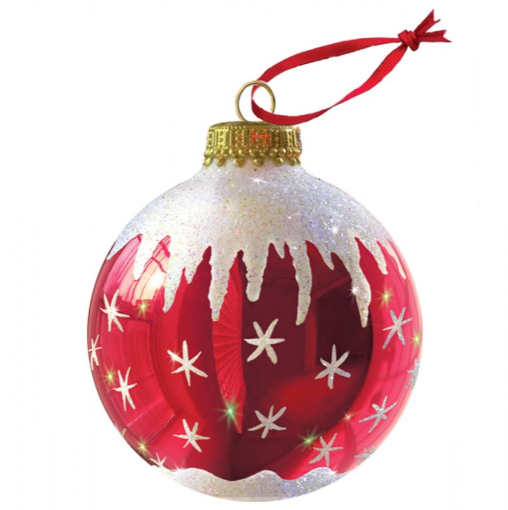 Pop Up 3D Weihnachten Ornament Karte Baum Anhänger Karte PopShot Weihnachtszimmer 10x13 cm