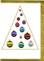 Pop Up Weihnachten ZZ Design Grußkarte PopShot Bunte Kugel Tannenbaum 13x18cm