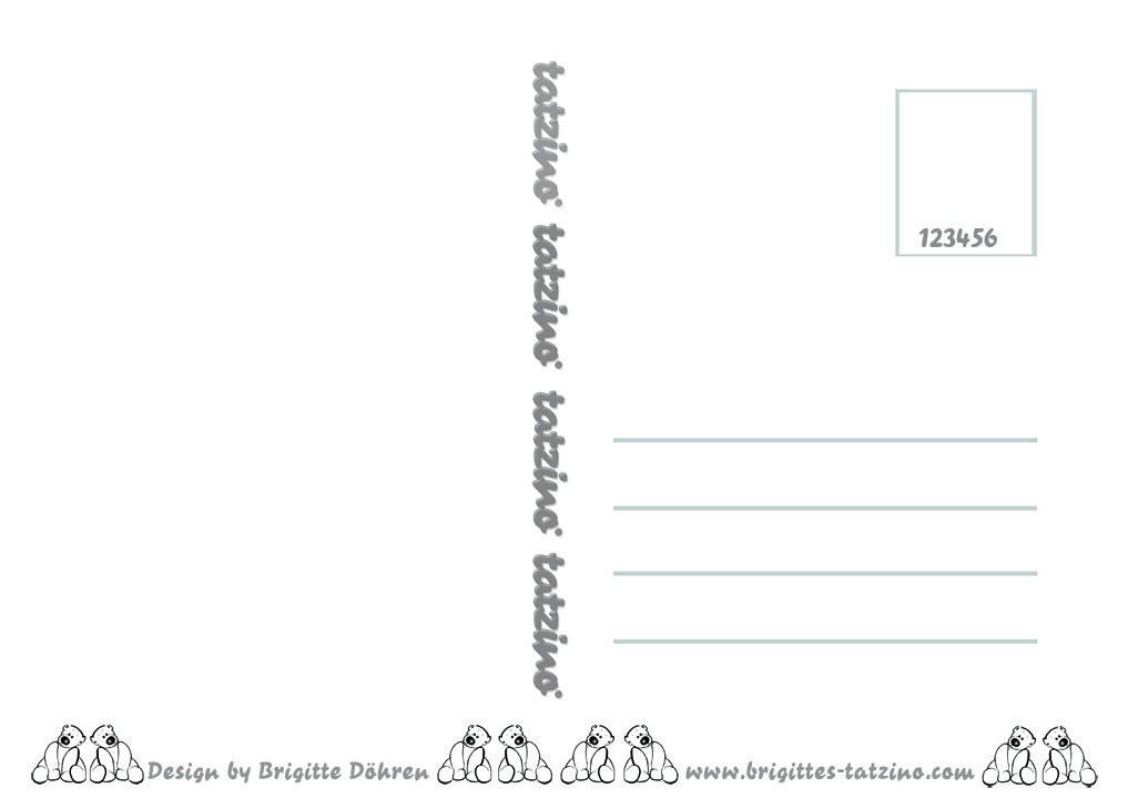 tatzino Postkarte Humor lustig geistreich Mein Beziehungsstatus C6