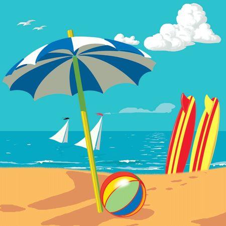 Pop UP 3D Geburtstag Mini Grußkarte PopShot Urlaub Strand Beach 7,6x7,6cm