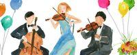 Pop Up 3D Geburtstag Sound Panorama Grußkarte PopShot Musik Konzert 23x10cm