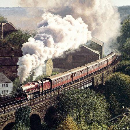 Lokomotiv Grußkarte Geburtstag Tracks Ohne Text Einladung Gutschein Eisenbahn 16x16cm
