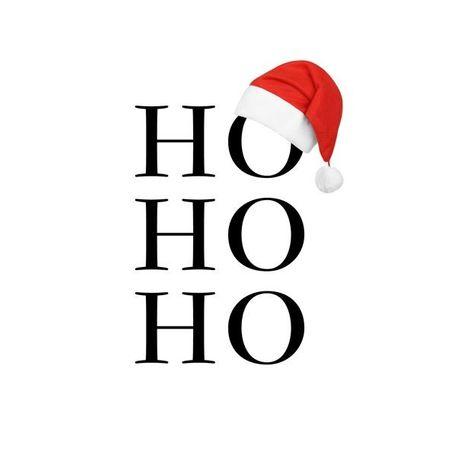 Servietten Weihnachten Winter Prägung Motiv Text HO HO HO 20er Packung 3-lagig 33x33cm