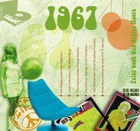 CD Sound Karte 50 Geburtstag 20 Original Hits aus 1967 plus download