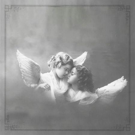 Qualitäts Servietten Vintage Photo Engel Flügel 20x 3-lagig 33x33cm