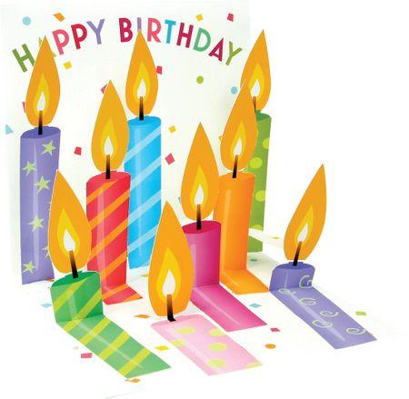 1025 Birthday Candles