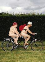 6C261 Gogglies Midi Karte Lustige Fahrrad Tour 12x17cm