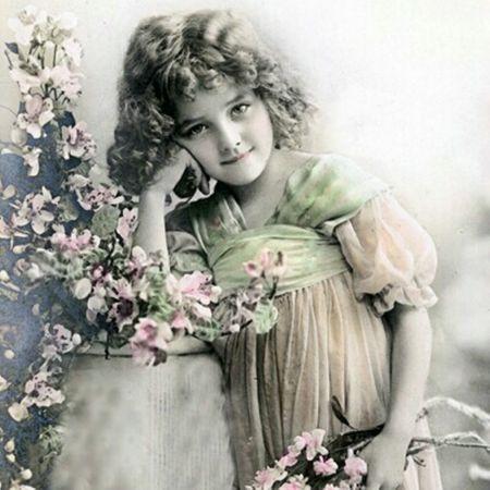 Qualitäts Servietten Vintage Photo Kinder Träume 20x 3-lagig 33x33cm