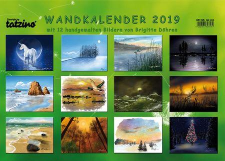 tatzino Kalender 2019 Wandkalender Naturbilder von Brigitte Döhren 42x30cm
