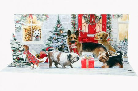A238 Holiday Dogs