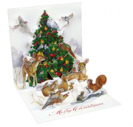 Display Card for TR190 Tree by the Woods