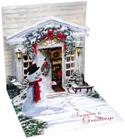 936S Treasure Musterkarte Holiday Door 13x13 cm