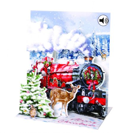 Display Card for SS077 Santa's Express