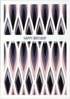 UWP LUXE Geburtstag Pop UP 3D Laser Karte Grußkarte Birthday Feuer 17x12cm