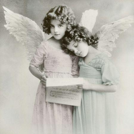 Qualitäts Servietten Vintage Photo Kinder Brief 20x 3-lagig 33x33cm