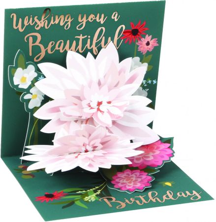00 NEW - Display Card for TR292 Beautiful Birthday