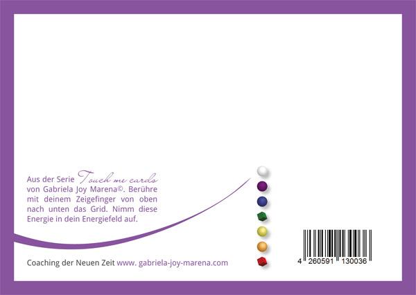 Energie Entspannungs Karten Touch me cards Energiefeld Selbstvertrauen 16x11cm