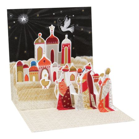 - NEW Display Card for 1309 Three Wise Men