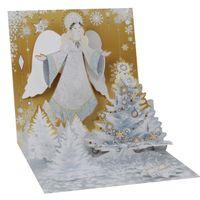 1312S  Treasure Musterkarte Goldener Engel 13x13 cm