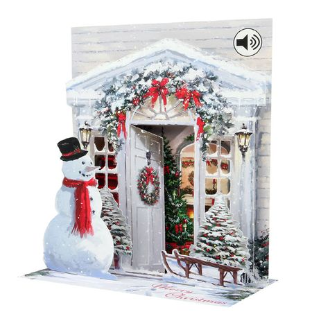 SS042S Sight´n Sound Musterkarte Holiday Door 18x13 cm