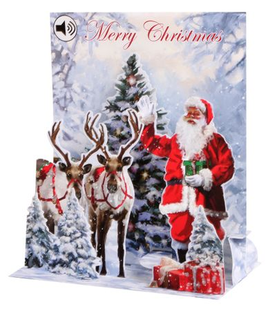 Display Card for SS069 Jolly Santa