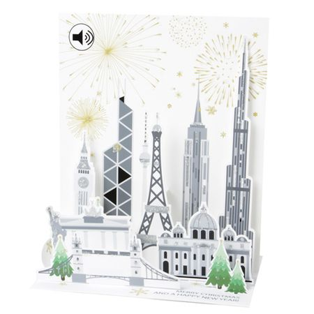 SS085S Sight´n Sound Musterkarte  Global Christmas 18x13 cm