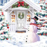 TR300S Mini Musterkarte Weihnachtsmann 7,6x7,6cm