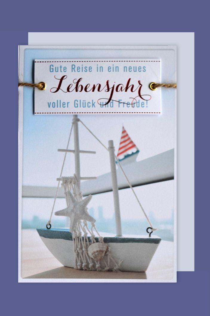 geburtstag lifestyle karte grusskarte applikation maritim