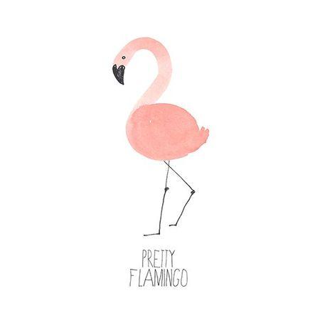 Cocktail Servietten Geburtstag Feier Flamingo 20 Stück 3-lagig 25x25cm