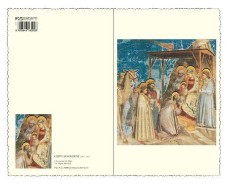 Christliche Karte Weihnachten Italien Grußkarte Ehrfurcht erweisen 18x11cm