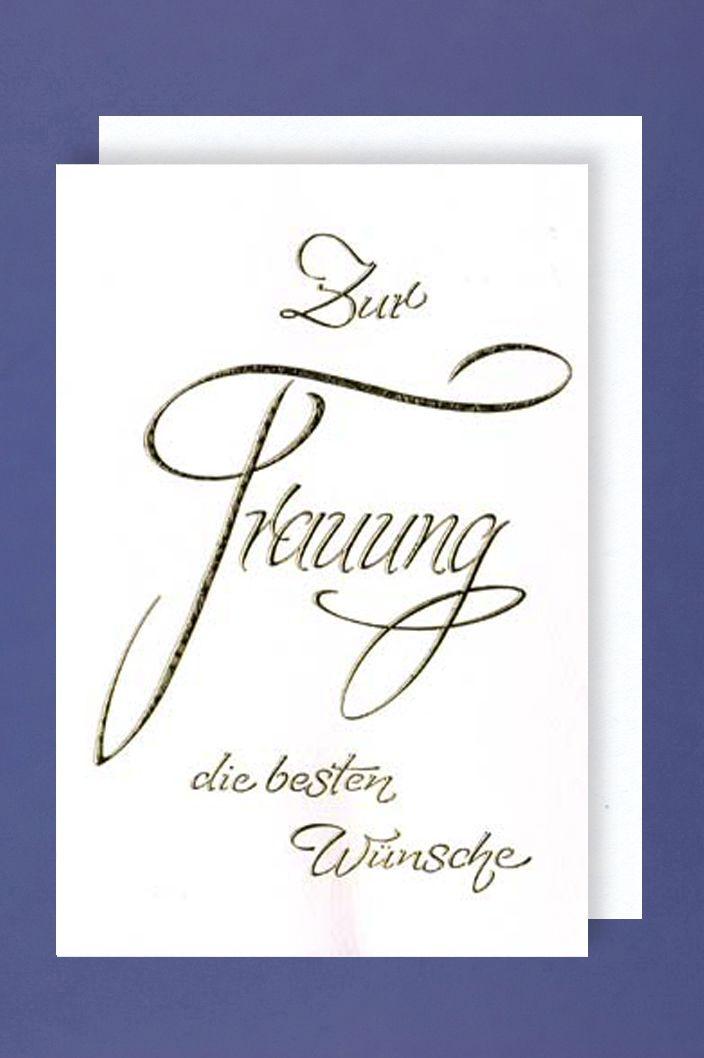 Wünsche Zur Hochzeit Karte.Hochzeit Trauung Karte Grußkarte Foliendruck Beste Wünsche 16x11cm 1 2 3 Geburtstag