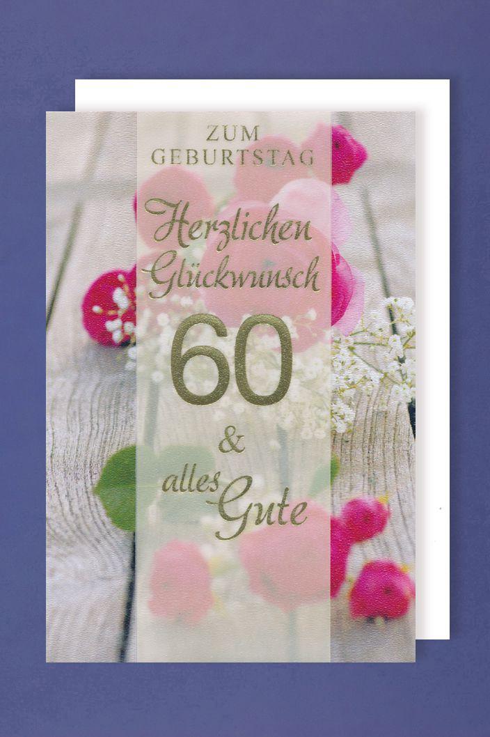 Zum 60 Geburtstag Clipart Gluckwunsch Einladung