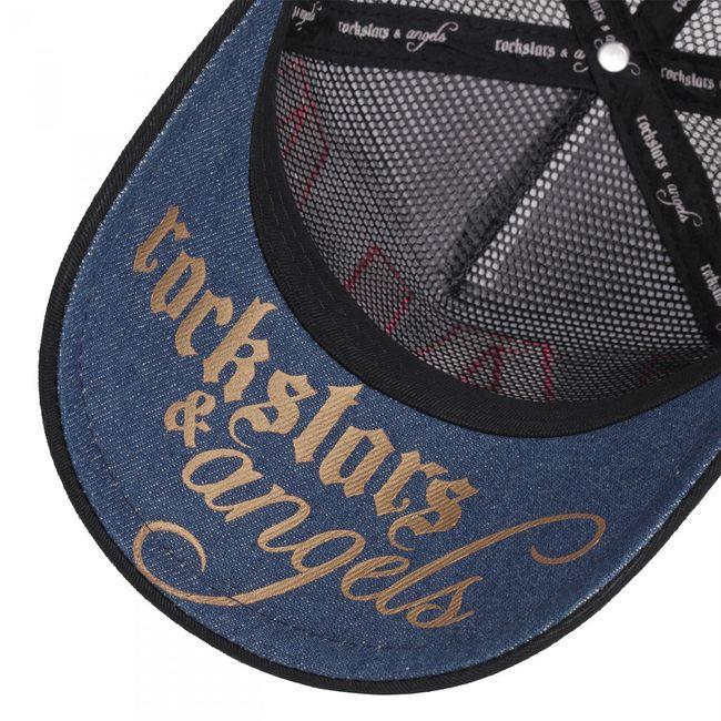 Rockstars & Angels Unisex Cap Lala bronze schwarz