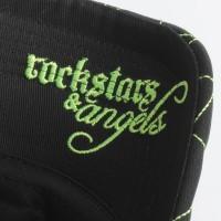 Rockstars & Angels Unisex Cap R&A black/neon green