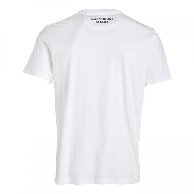 Rockstars & Angels Men T-Shirt Victor Secret Logo white
