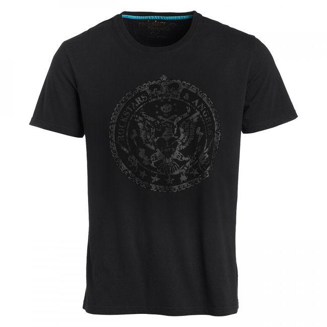 Rockstars & Angels Crest T-Shirt black