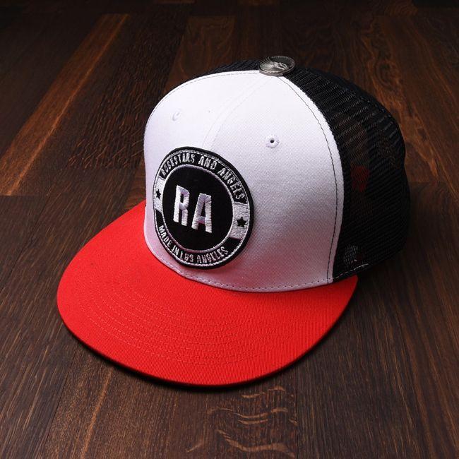 Rockstars & Angels Unisex Cap RA red black